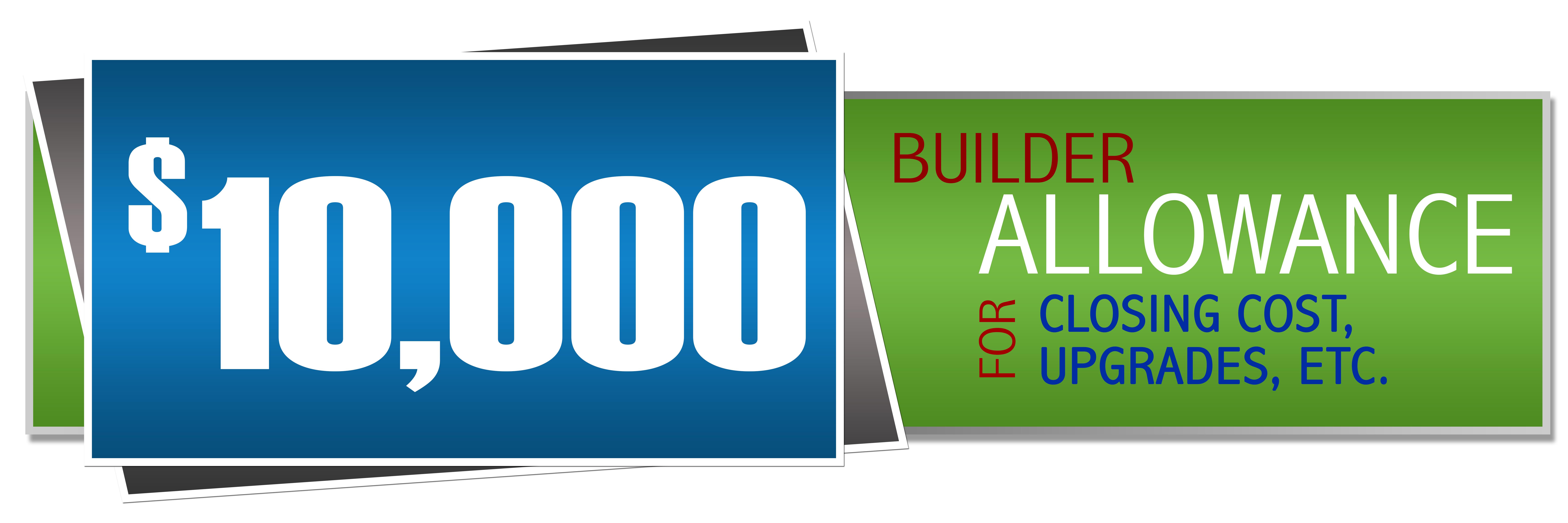 Builder Allowance